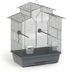 Vogelkäfig Iza 2 Pagode - Grau - Beeztees